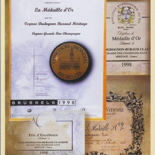 GOLD MEDAL 1898-1998